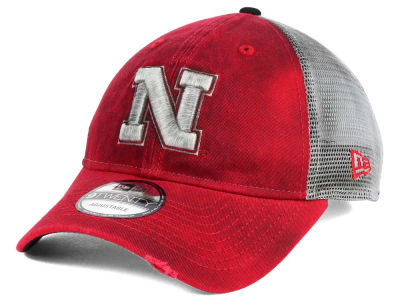 Nebraska Cornhuskers New Era NCAA Team Rustic 9TWENTY Cap