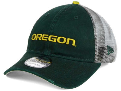 Oregon Ducks New Era NCAA Team Rustic 9TWENTY Cap