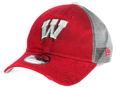 Wisconsin Badgers New Era NCAA Team Rustic 9TWENTY Cap