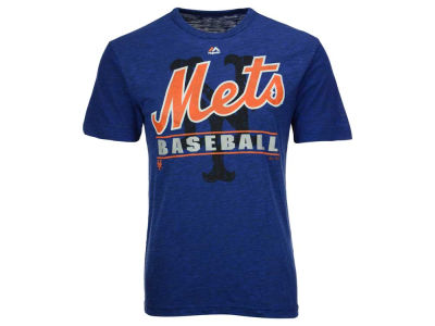 New York Mets MLB Men's Bases Loaded Hyperslub T-Shirt