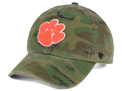 Clemson Tigers '47 NCAA Operation Hat Trick Movement '47 CLEAN UP Cap