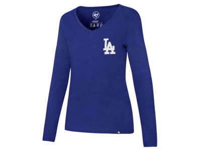 Los Angeles Dodgers '47 MLB Women's Backer Long Sleeve T-Shirt