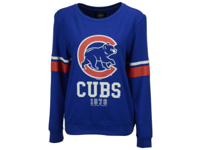 Chicago Cubs '47 MLB Women's Throwback Crew Sweatshirt