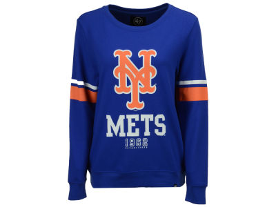 New York Mets '47 MLB Women's Throwback Crew Sweatshirt