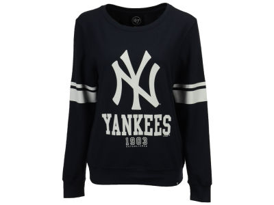 New York Yankees '47 MLB Women's Throwback Crew Sweatshirt