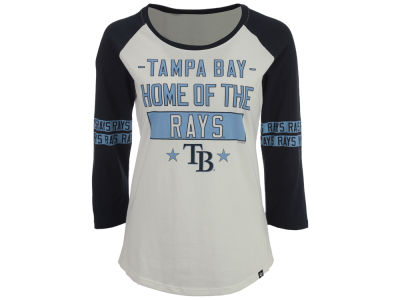 Tampa Bay Rays '47 MLB Women's Triple Crown Raglan T-Shirt