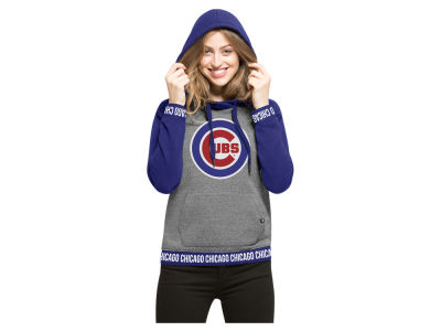 Chicago Cubs '47 MLB Women's Revolve Hooded Sweatshirt