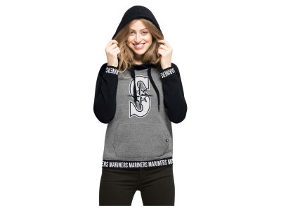 Seattle Mariners '47 MLB Women's Revolve Hooded Sweatshirt