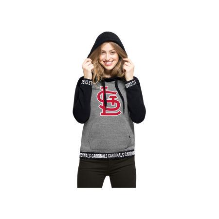 St. Louis Cardinals '47 MLB Women's Revolve Hooded Sweatshirt