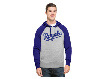 Kansas City Royals '47 MLB Men's Sport Raglan Hoodie