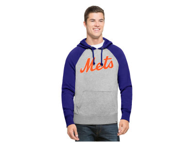 New York Mets '47 MLB Men's Sport Raglan Hoodie