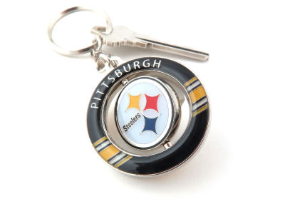 Pittsburgh Steelers Team Spinner Keychain