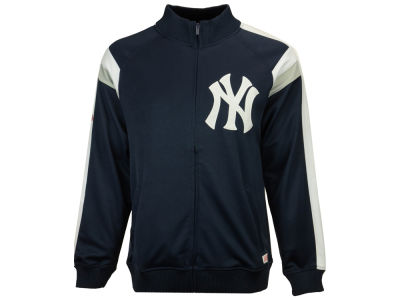 New York Yankees MLB Men's Poly Ponte Track Jacket