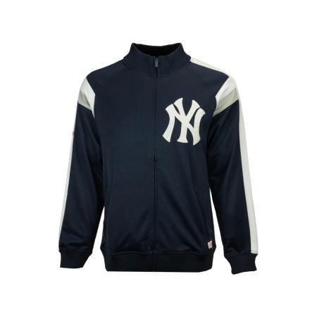 New York Yankees MLB Men's Poly Ponte Track Jacket