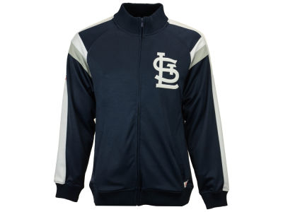 St. Louis Cardinals MLB Men's Poly Ponte Track Jacket