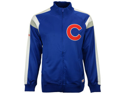Chicago Cubs MLB Men's Poly Ponte Track Jacket