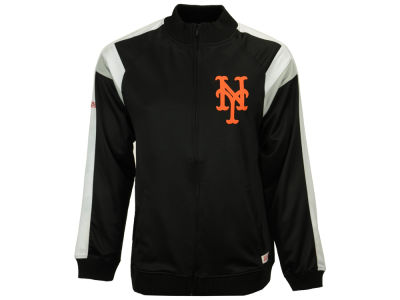 New York Mets MLB Men's Poly Ponte Track Jacket