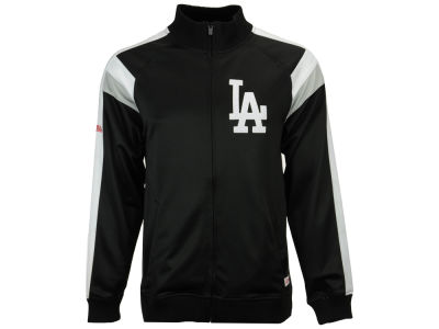 Los Angeles Dodgers MLB Men's Poly Ponte Track Jacket