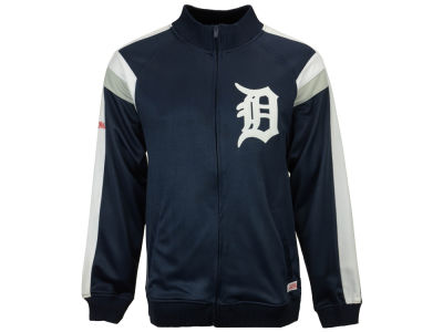 Detroit Tigers MLB Men's Poly Ponte Track Jacket