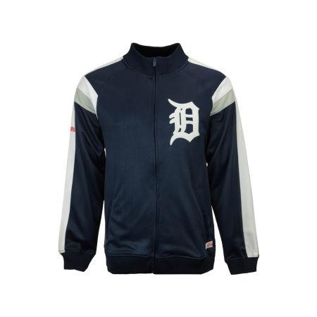 Detroit Tigers MLB Men's Poly Ponte Track Jacket