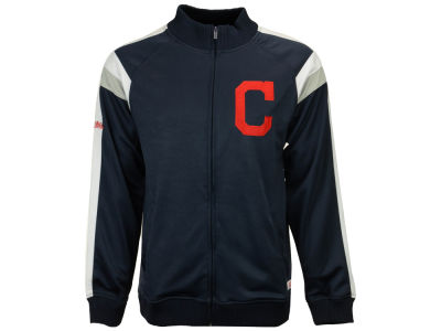 Cleveland Indians MLB Men's Poly Ponte Track Jacket