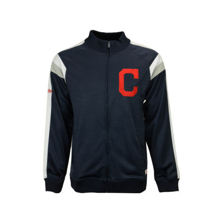 Cleveland Indians MLB Men's Poly Ponte Track Jacket