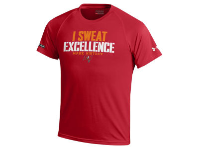 Tampa Bay Buccaneers Under Armour NFL Youth Combine Sweat Excellence T-Shirt