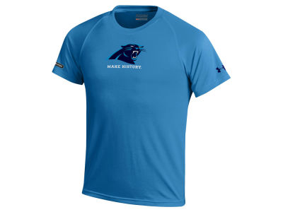 Carolina Panthers Under Armour NFL Youth Combine Primary Logo Tech T-Shirt