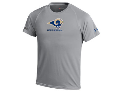 Los Angeles Rams Under Armour NFL Youth Combine Primary Logo Tech T-Shirt