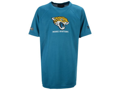 Jacksonville Jaguars Under Armour NFL Youth Combine Primary Logo Tech T-Shirt