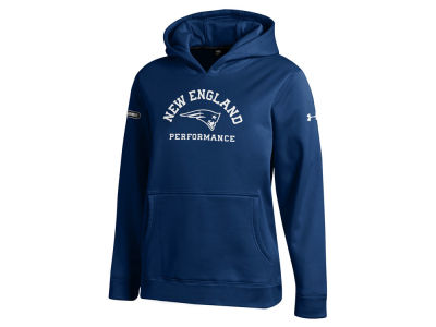 New England Patriots Under Armour NFL Youth Combine Arch Logo Hoodie