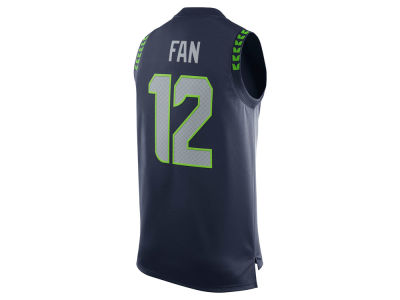 Seattle Seahawks Fan #12 Nike NFL Men's Player Tank