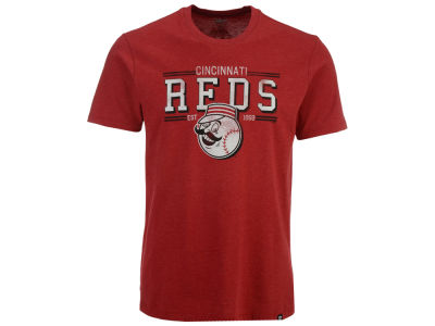 Cincinnati Reds MLB Men's Club Lineup T-Shirt