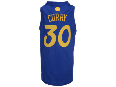 Golden State Warriors Stephen Curry NBA Youth Christmas Jersey