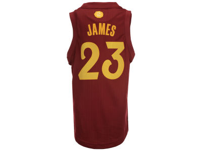 Cleveland Cavaliers LeBron James NBA Youth Christmas Jersey