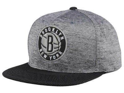 Brooklyn Nets Mitchell & Ness NBA Space Knit Snapback Cap