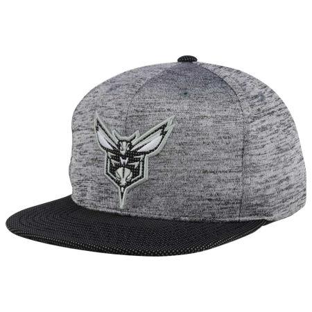 Charlotte Hornets Mitchell & Ness NBA Space Knit Snapback Cap