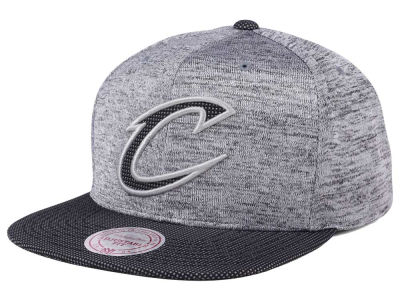 Cleveland Cavaliers Mitchell & Ness NBA Space Knit Snapback Cap