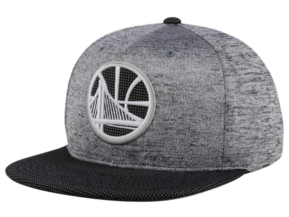 new products e783d fa50f Golden State Warriors Mitchell   Ness NBA Space Knit Snapback Cap   lids.com
