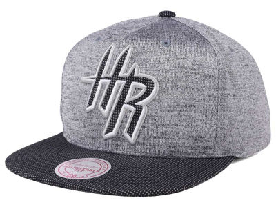 Houston Rockets Mitchell & Ness NBA Space Knit Snapback Cap