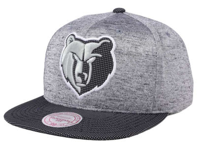 Memphis Grizzlies Mitchell & Ness NBA Space Knit Snapback Cap