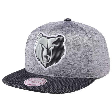 Memphis Grizzlies Mitchell & Ness NBA Space Knit Snapback Cap