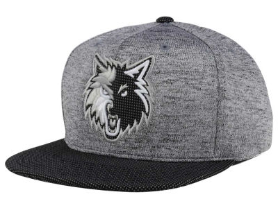 Minnesota Timberwolves Mitchell & Ness NBA Space Knit Snapback Cap
