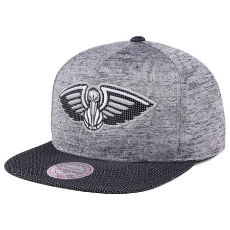 New Orleans Pelicans Mitchell & Ness NBA Space Knit Snapback Cap
