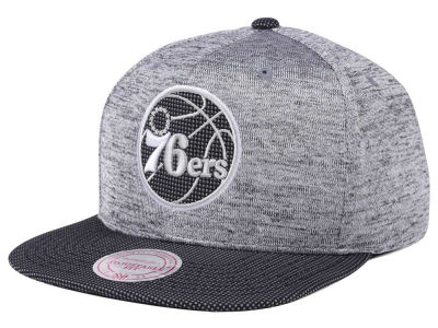 Philadelphia 76ers Mitchell & Ness NBA Space Knit Snapback Cap