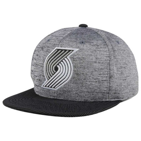 Portland Trail Blazers Mitchell & Ness NBA Space Knit Snapback Cap