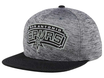 San Antonio Spurs Mitchell & Ness NBA Space Knit Snapback Cap