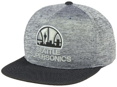 Seattle SuperSonics Mitchell & Ness NBA Space Knit Snapback Cap