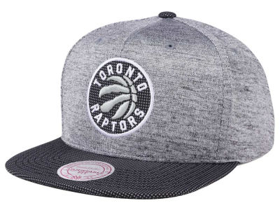 Toronto Raptors Mitchell & Ness NBA Space Knit Snapback Cap