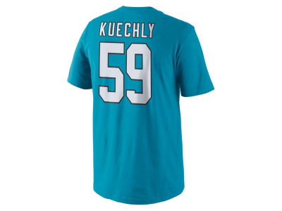 Carolina Panthers Luke Kuechly Nike NFL Youth Pride Name and Number T-Shirt